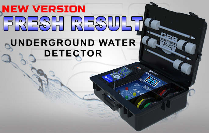 Fresh Result 2 systems Plus, underground Water Detector