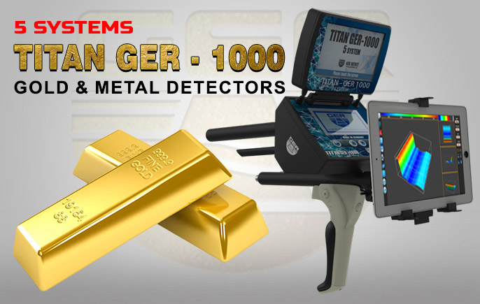Titan Ger-1000,3D imaging metal detector Advanced Worldwide Technologies