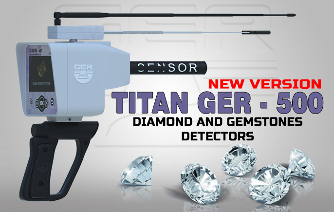 Titan Ger-500 Plus, The Best Diamond Detector depth up to 65 meters